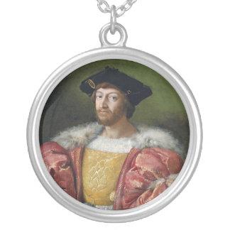 De Medici de Lorenzo II Collar Plateado