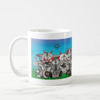 de meisjes in de wei. coffee mug