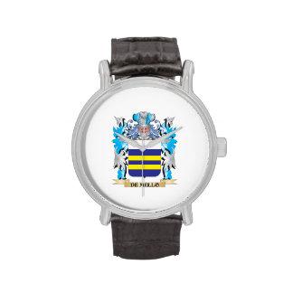 De-Mello escudo de armas - escudo de la familia Reloj