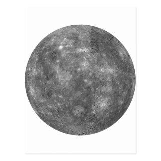 ~ de MERCURY del PLANETA (Sistema Solar) Tarjetas Postales