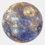 ~ de MERCURY v2 (Sistema Solar) del PLANETA Pegatina Redonda