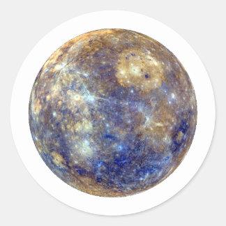~~ de MERCURY v2 (Sistema Solar) del PLANETA Pegatina Redonda