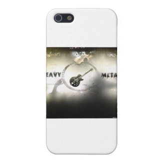 De metales pesados iPhone 5 funda