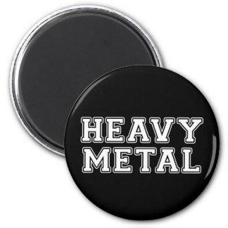 De metales pesados imán redondo 5 cm