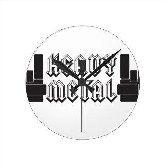 ¡De metales pesados! Relojes