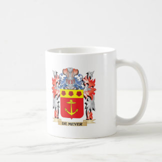 De-Meyer Coat of Arms - Family Crest Coffee Mug