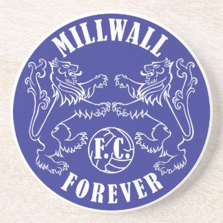 De Millwall práctico de costa para siempre - Posavasos Manualidades