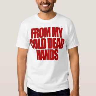 De mis manos muertas frías remeras