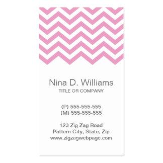 De moda palidezca - el modelo rosado del galón, tarjetas de visita