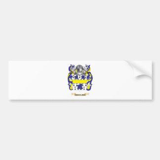 De Molder Coat of Arms Car Bumper Sticker