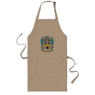 De-Molder Coat of Arms - Family Crest Long Apron