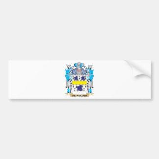 De-Molder Coat of Arms - Family Crest Car Bumper Sticker