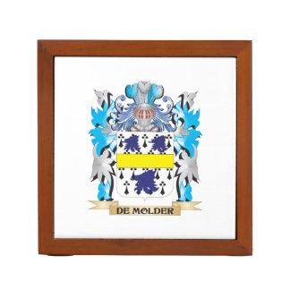 De-Molder Coat of Arms - Family Crest Desk Organizers