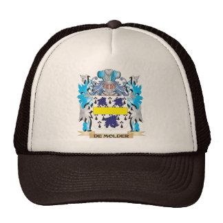De-Molder Coat of Arms - Family Crest Trucker Hat