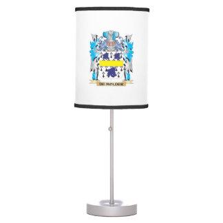 De-Molder Coat of Arms - Family Crest Table Lamps