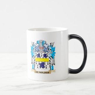 De-Molder Coat of Arms - Family Crest 11 Oz Magic Heat Color-Changing Coffee Mug