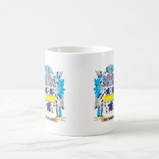 De-Molder Coat of Arms - Family Crest Classic White Coffee Mug