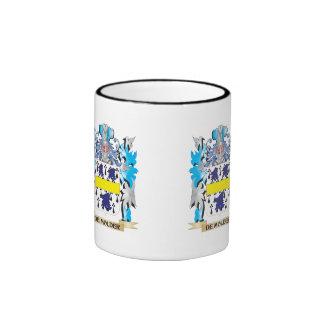 De-Molder Coat of Arms - Family Crest Ringer Coffee Mug