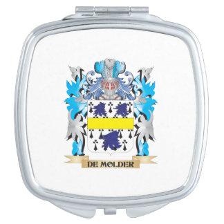 De-Molder Coat of Arms - Family Crest Compact Mirrors