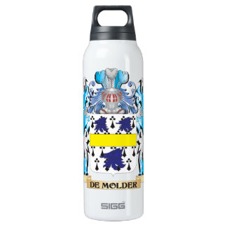 De-Molder Coat of Arms - Family Crest 16 Oz Insulated SIGG Thermos Water Bottle