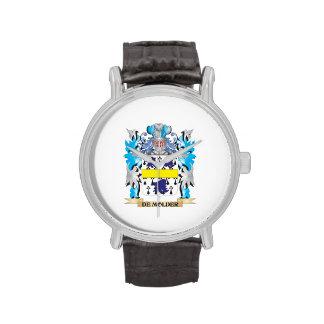 De-Molder Coat of Arms - Family Crest Wristwatch