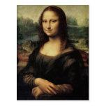 De Mona Lisa postal detalladamente