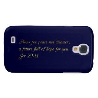 De motivación e inspirado - caja de la galaxia S4