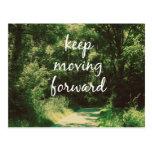 De motivación guarde el mover adelante de cita postal