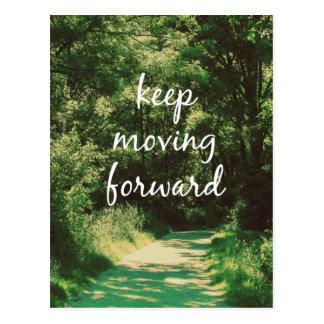 De motivación guarde el mover adelante de cita tarjetas postales