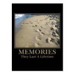 De motivación: Las memorias duran un curso de la Postal