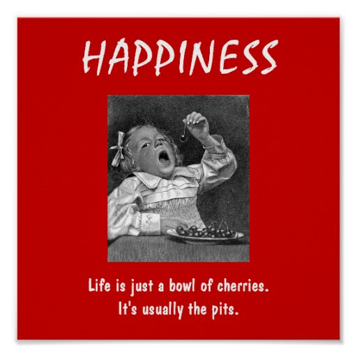 De-motivational Poster ~ HAPPINESS
