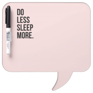 De Motivational Quotes Pink Do Less Dry Erase Whiteboards