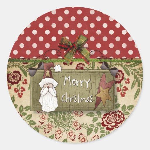 De Mys pegatina tan Christmasy