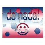 De Nada! America Flag Colors Pop Art Postcards