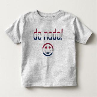 De Nada! America Flag Colors Toddler T-shirt