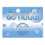 De Nada! Argentina Flag Colors Pop Art Postcards