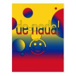 De Nada! Colombia Flag Colors Pop Art Postcards