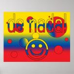 De Nada! Ecuador Flag Colors Pop Art Posters