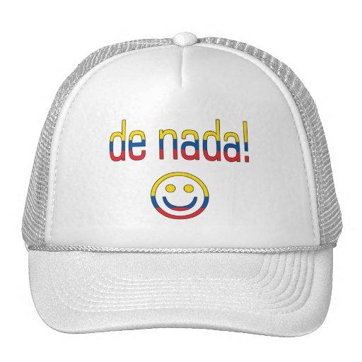 De Nada! Ecuador Flag Colors Trucker Hat