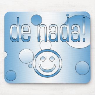 De Nada! Guatemala Flag Colors Pop Art Mouse Pad