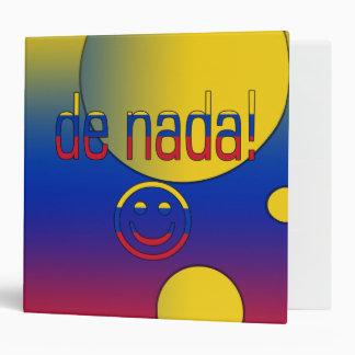 ¡De Nada! La bandera de Venezuela colorea arte pop