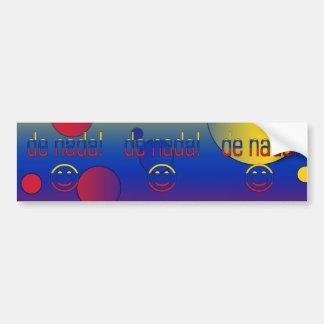 De Nada! Venezuela Flag Colors Pop Art Bumper Sticker