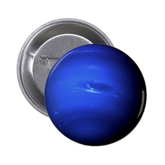~ de NEPTUNO del PLANETA (Sistema Solar) Pin Redondo De 2 Pulgadas
