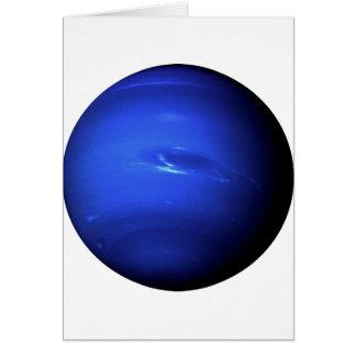 ~ de NEPTUNO del PLANETA (Sistema Solar) Tarjeta De Felicitación