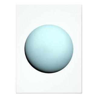 """~ de NEPTUNO v.2 (Sistema Solar) del PLANETA Invitación 6.5"""" X 8.75"""""""