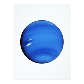 """~ de NEPTUNO v.3 (Sistema Solar) del PLANETA Invitación 6.5"""" X 8.75"""""""