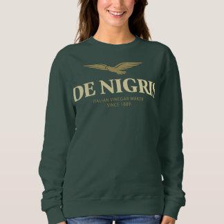 De Nigris Women's Basic Crew-Neck Sweatshirt