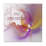 De no fumadores azulejos
