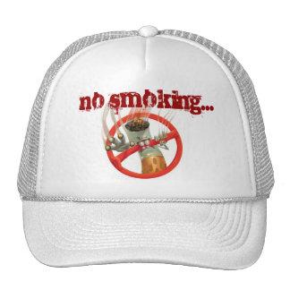 de no fumadores gorros bordados