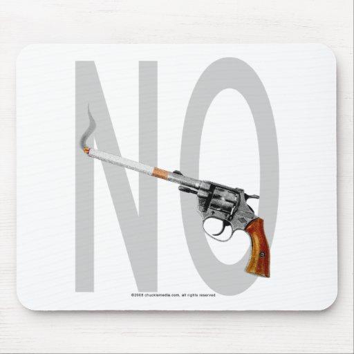 De no fumadores… mouse pads